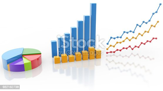 istock colorful types of graphs on white background 932162738