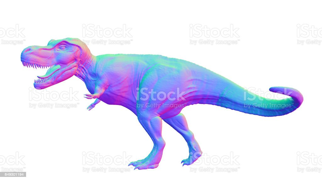 Colorful Tyrannosaurus Rex Anatomically Correct Trex Dinosaur From ...