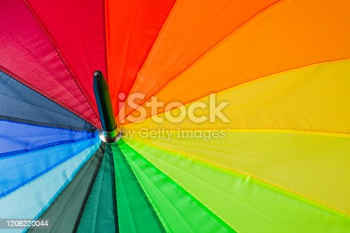 Colorful umbrella - abstract fashon background