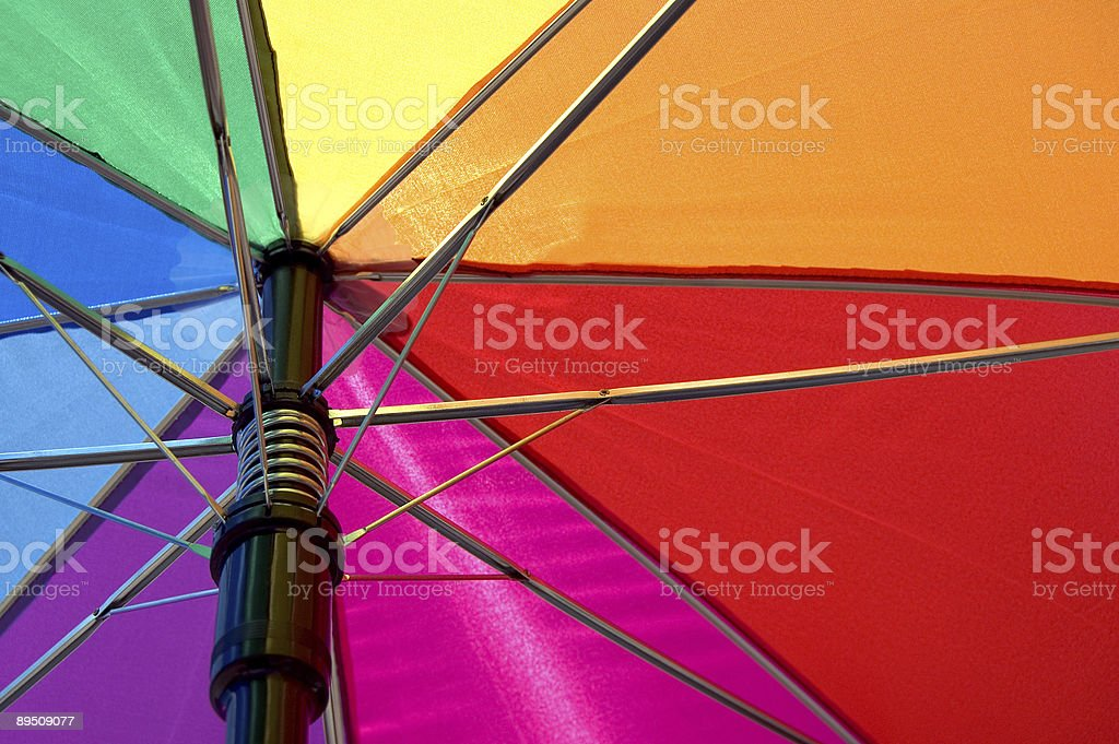 colorful umbrella royalty-free stock photo