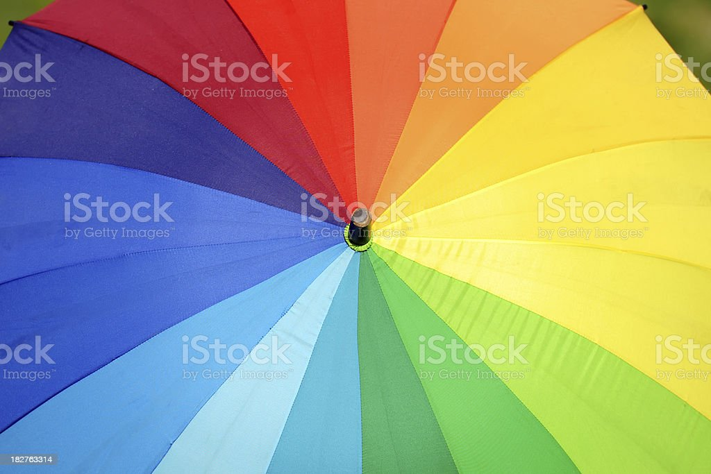 Colorful Umbrella - XLarge royalty-free stock photo