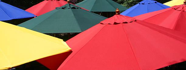 Bunte Regenschirme – Foto