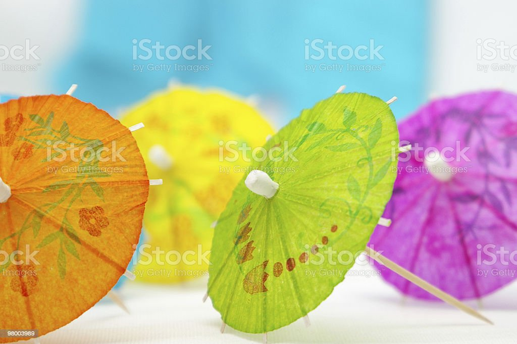 Colorful Umbrellas royalty-free stock photo