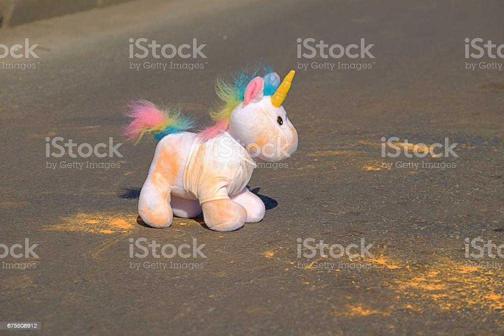 Colorful unicorn photo libre de droits