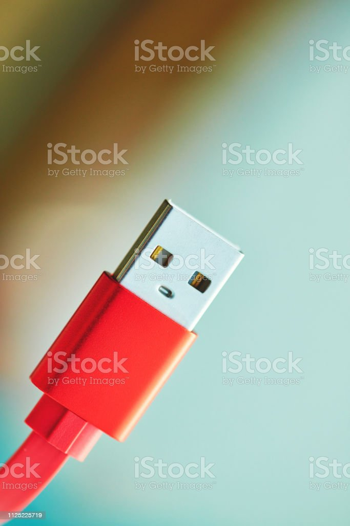 Colorful USB charging cable