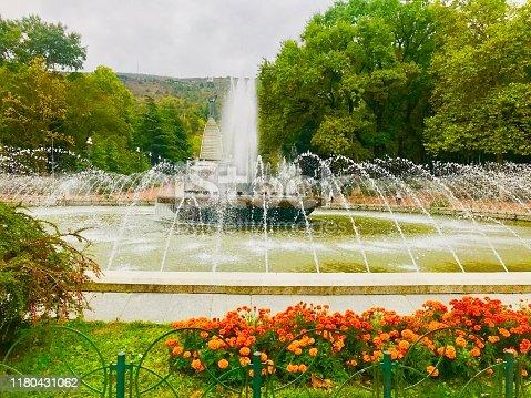 Colorful Vake Park in Tbilisi Georgia