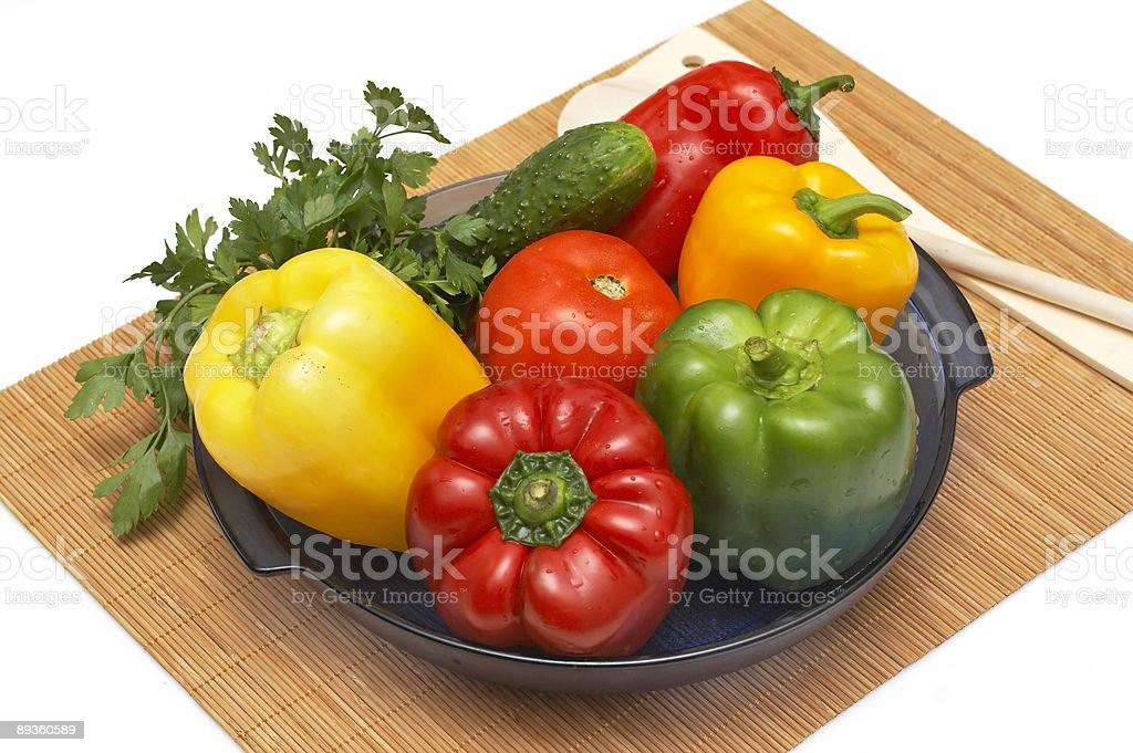 Colorful Vegetables royalty free stockfoto