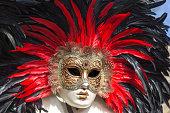 Colorful Venetian carnival masks for saleColorful Venetian carnival masks for sale