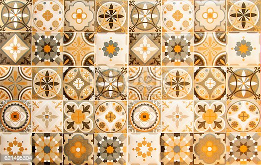 Contemporary Decorative Ceramic Wall Tile Composition - Wall Art ...