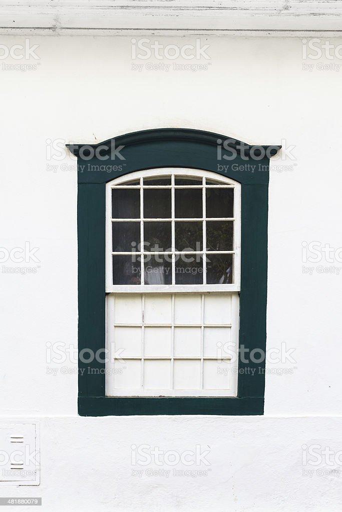 Bunte vintage-Fenster. Lizenzfreies stock-foto