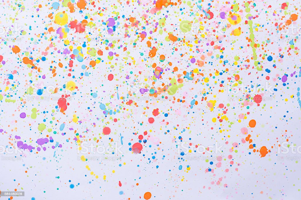 Color Painting Watercolor Splash Background Color Clipart: Colorful Water Color Splash Background Stock Photo & More