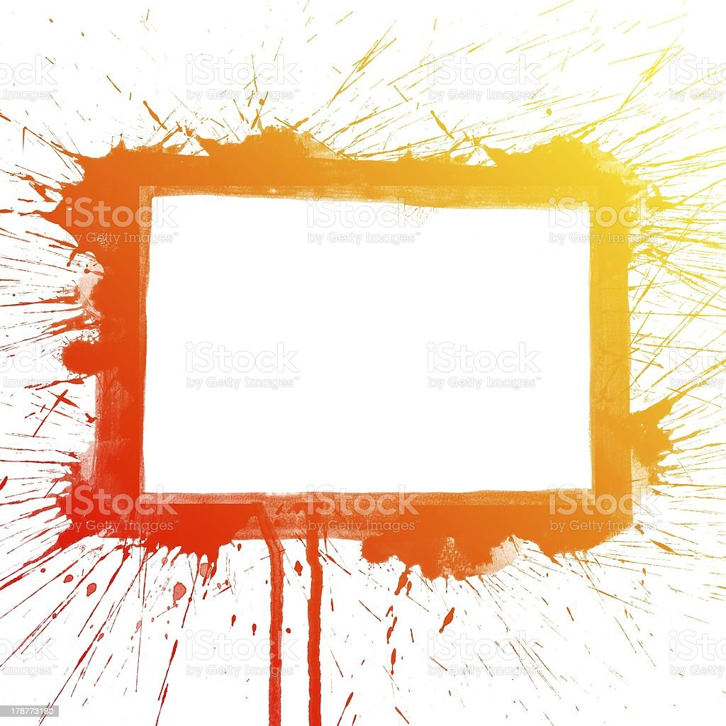 Colorful Water Color splash painting background royalty-free stock photo