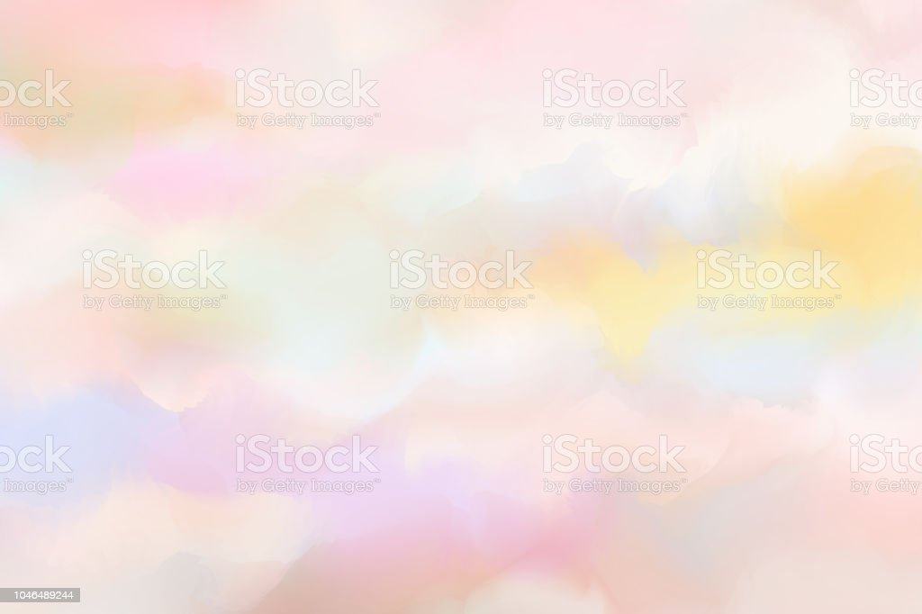 Grunge texture background. Pastel color wallpaper. Digital art painting. royalty