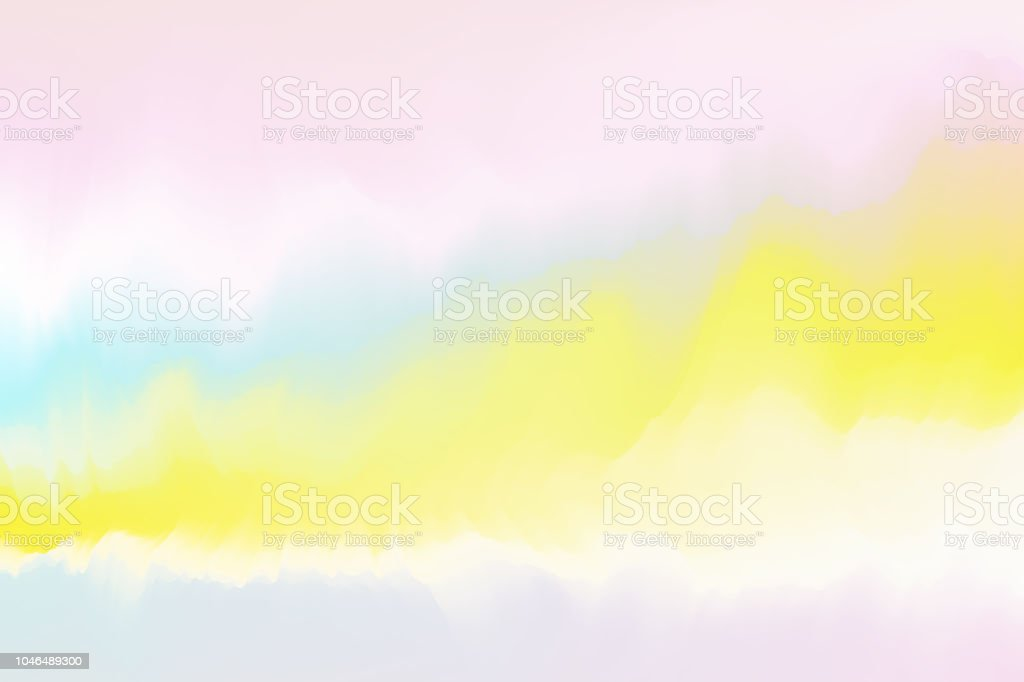 Colorful Watercolor Grunge Texture Background Pastel Color Wallpaper