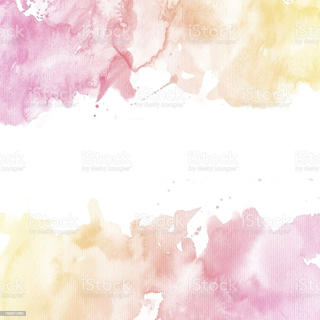 Examples of Watercolor Typography