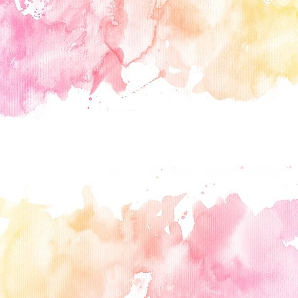 aquarelle fond coloré - dessin au pastel photos et images de collection