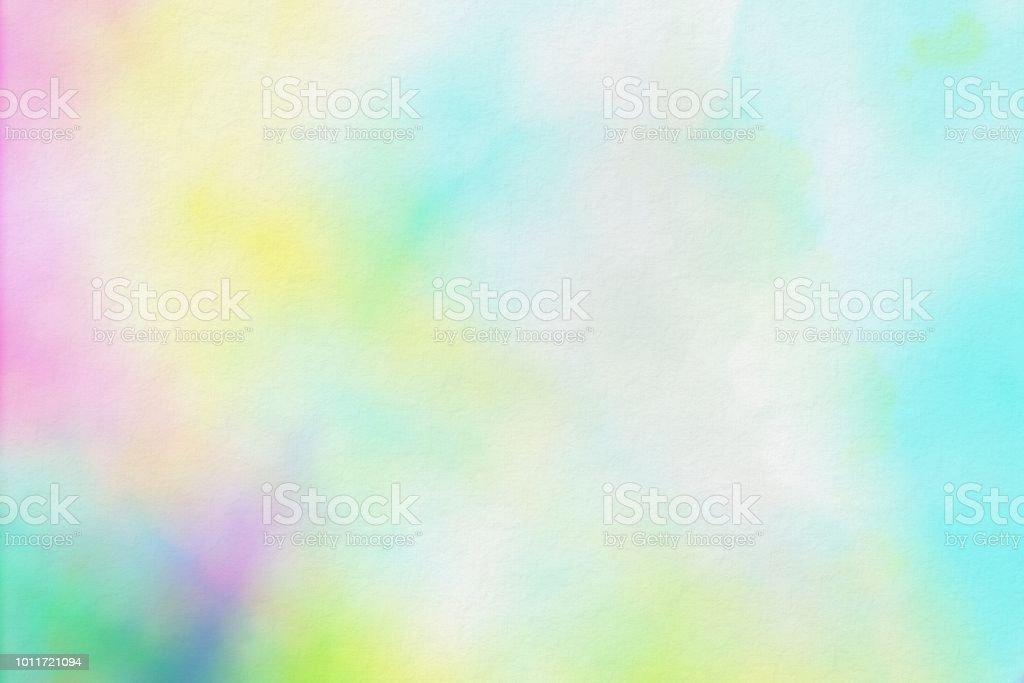 0e5df15c9e Textura De Papel De Acuarela De Colores Fondo Suave Foto de stock y ...