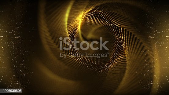 655864390 istock photo Colorful wave abstract background 1206939606