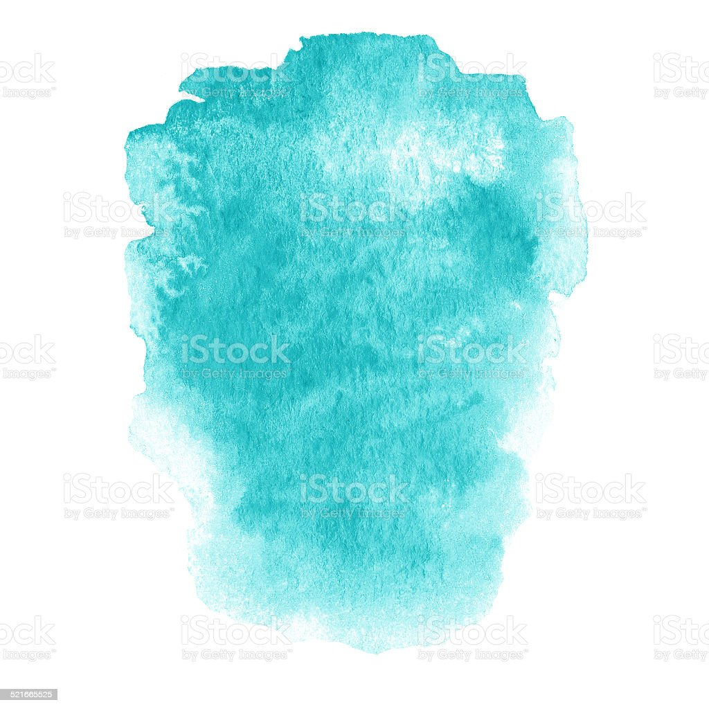 Colorful wet ink  spot, watercolor abstract hand painted texture stock photo