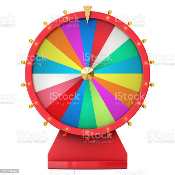 Colorful wheel of luck or fortune realistic spinning fortune wheel picture id821516476?b=1&k=6&m=821516476&s=612x612&h=opzetpoz6yldvppx lcxz u8a3hb6rpeooturf37puu=