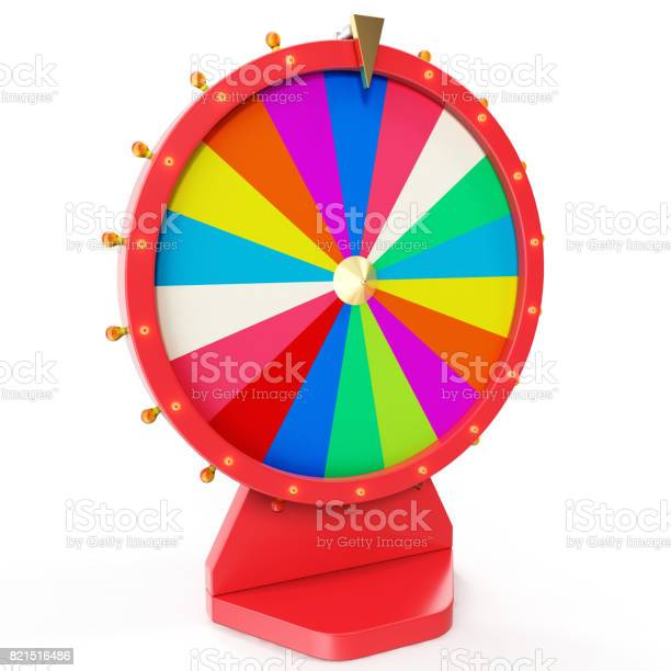 Colorful wheel of luck or fortune realistic spinning fortune wheel picture id821516486?b=1&k=6&m=821516486&s=612x612&h=oexifqe8jztd8ev7djgfozikcaxrvxsrwbw14o1zyui=