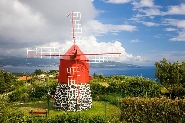 Bunten Windmühle – Foto