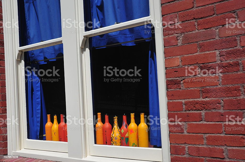 Colorful Window stock photo