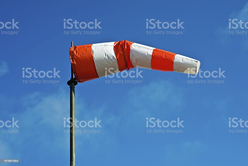 colorful windsock stock photo
