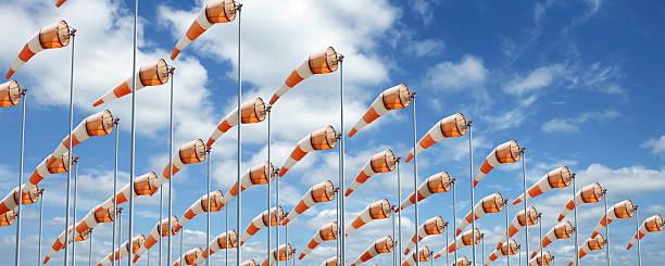 XXXL bunte windsocks – Foto