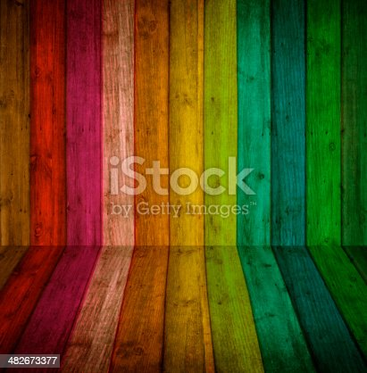 istock colorful wood Background 482673377