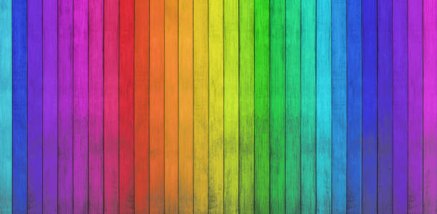 colorful wood backgrounds stock photo