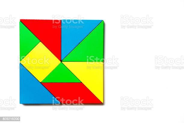 Colorful wood toy puzzle in geometric square shape on white picture id825215200?b=1&k=6&m=825215200&s=612x612&h=4tqfxdtxb732rgoagiwqu1f0jkvxulrnzlzsx81bosy=