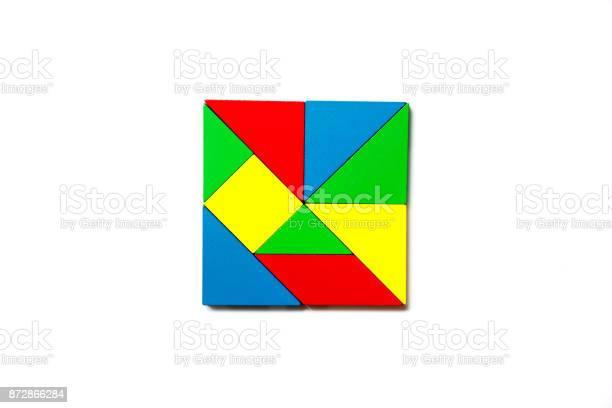 Colorful wood toy puzzle in geometric square shape on white picture id872866284?b=1&k=6&m=872866284&s=612x612&h=uerck487zsxpxp uutzxsgna7o0av7q29oiizffjjza=