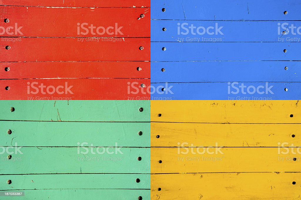 Colorful wooden background royalty-free stock photo