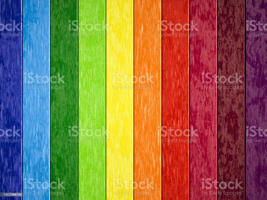 Colorful wooden backgrounds stock photo