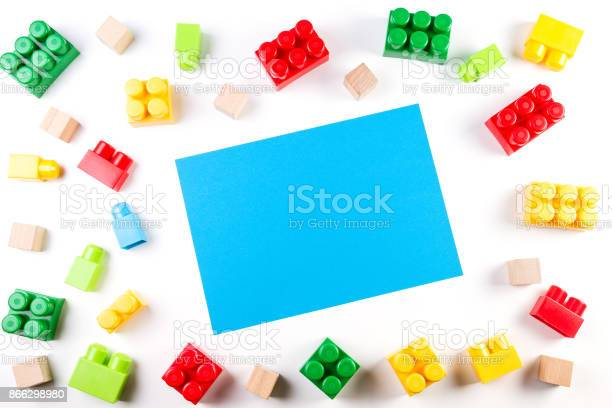 Colorful wooden cubes and plastic construction blocks with blue blank picture id866298980?b=1&k=6&m=866298980&s=612x612&h=1gffhht92aajdjquya0iugifx8r36a2jrleuiyjx7bw=