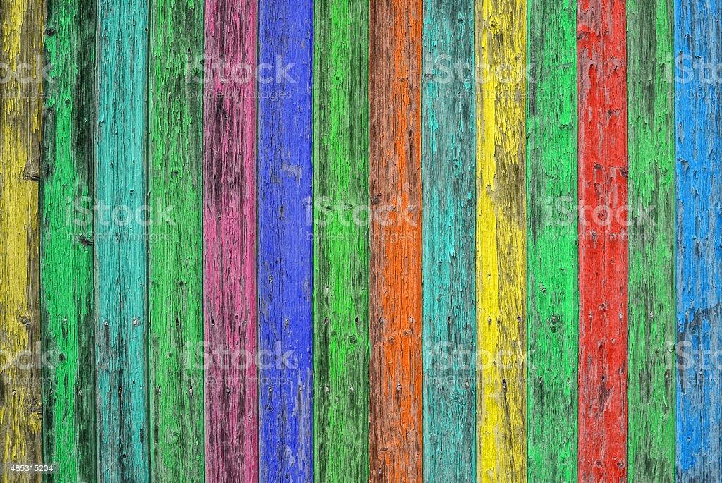Colorato piastrelle in legno sfondo in legno trama stile