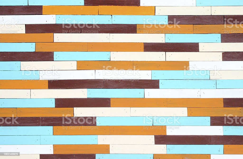colorful wooden wall background royalty-free stock photo