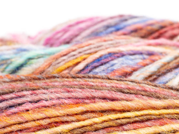 Bunte Wolle – Foto