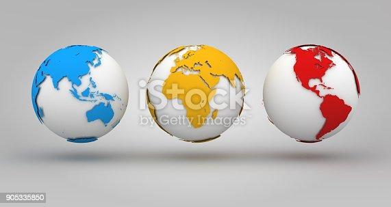 istock Colorful World Background 905335850