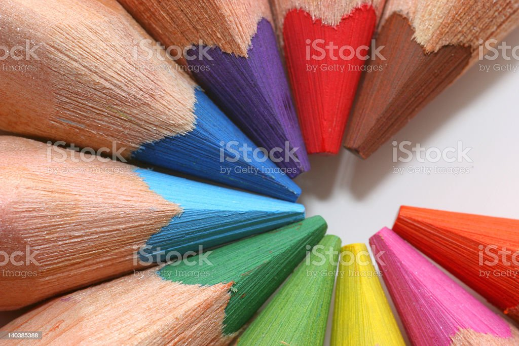 colorful writing royalty-free stock photo