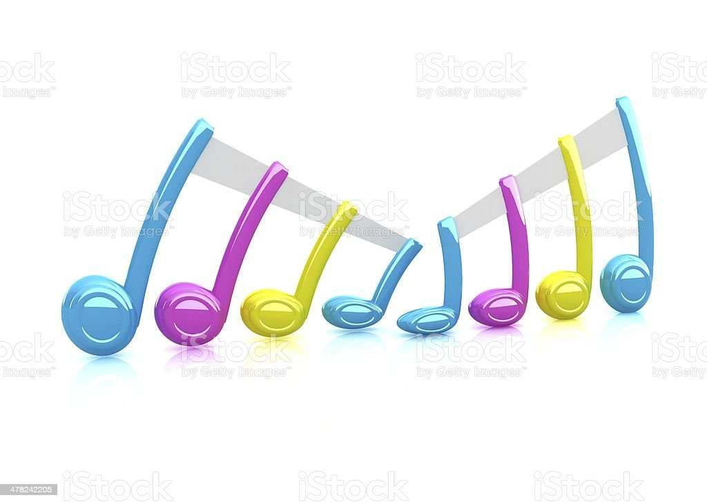 Colorfull note royalty-free stock photo