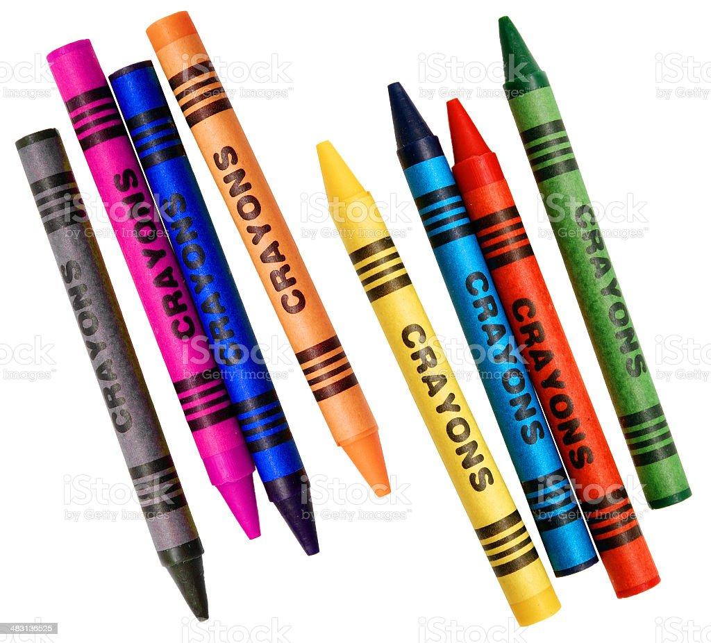 Colorear Crayons - Fotografía de stock y más imágenes de Amarillo ...