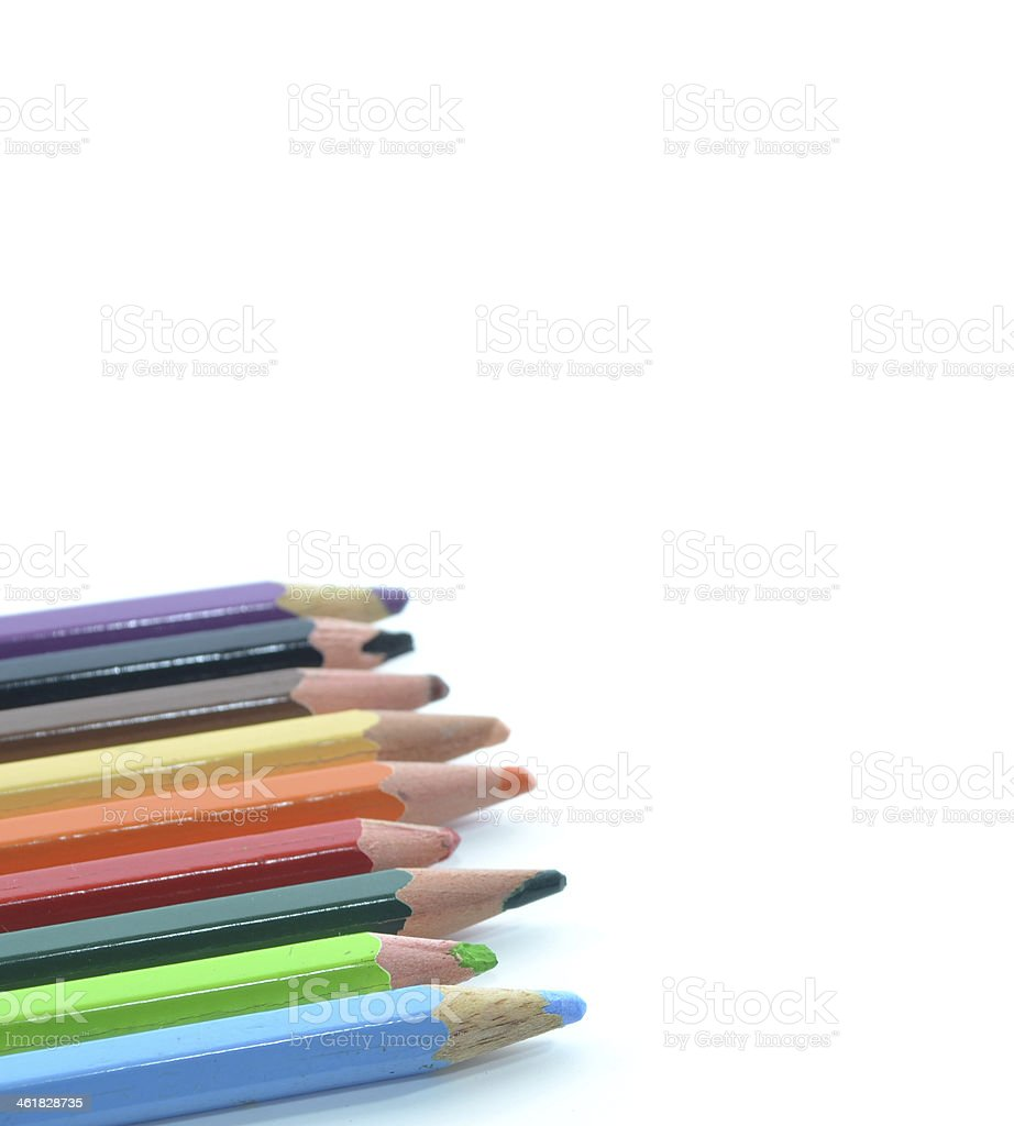 Coloring Pencil stock photo