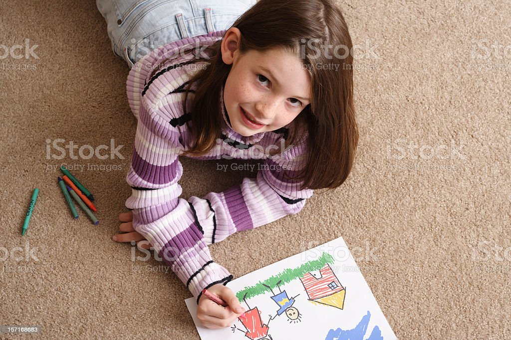 Coloring royalty-free stock photo