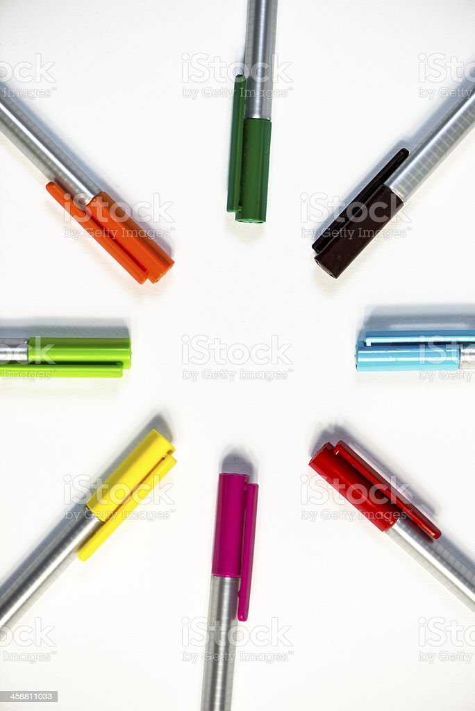 colors and fun royalty-free stock photo
