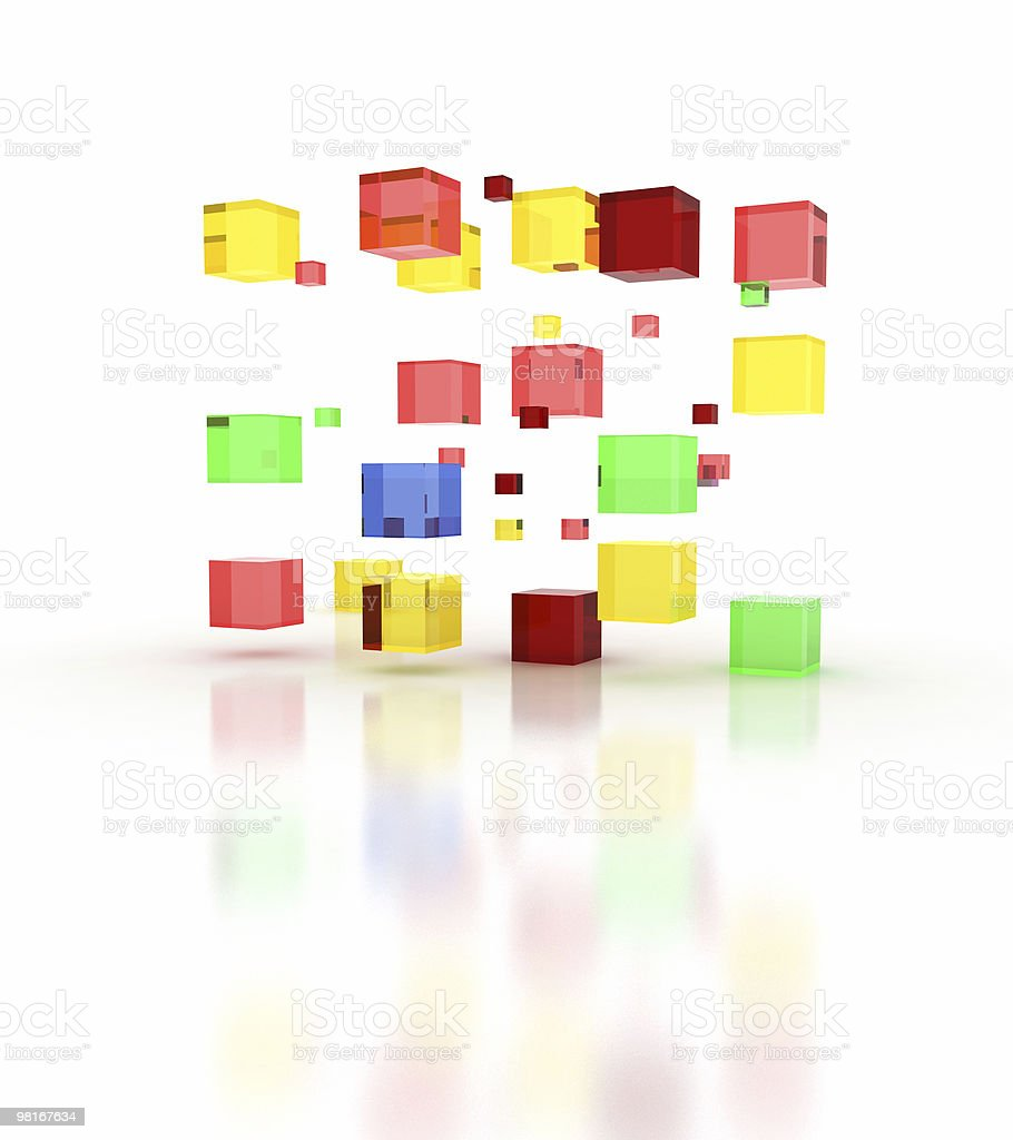 colors block building royalty-free stock photo