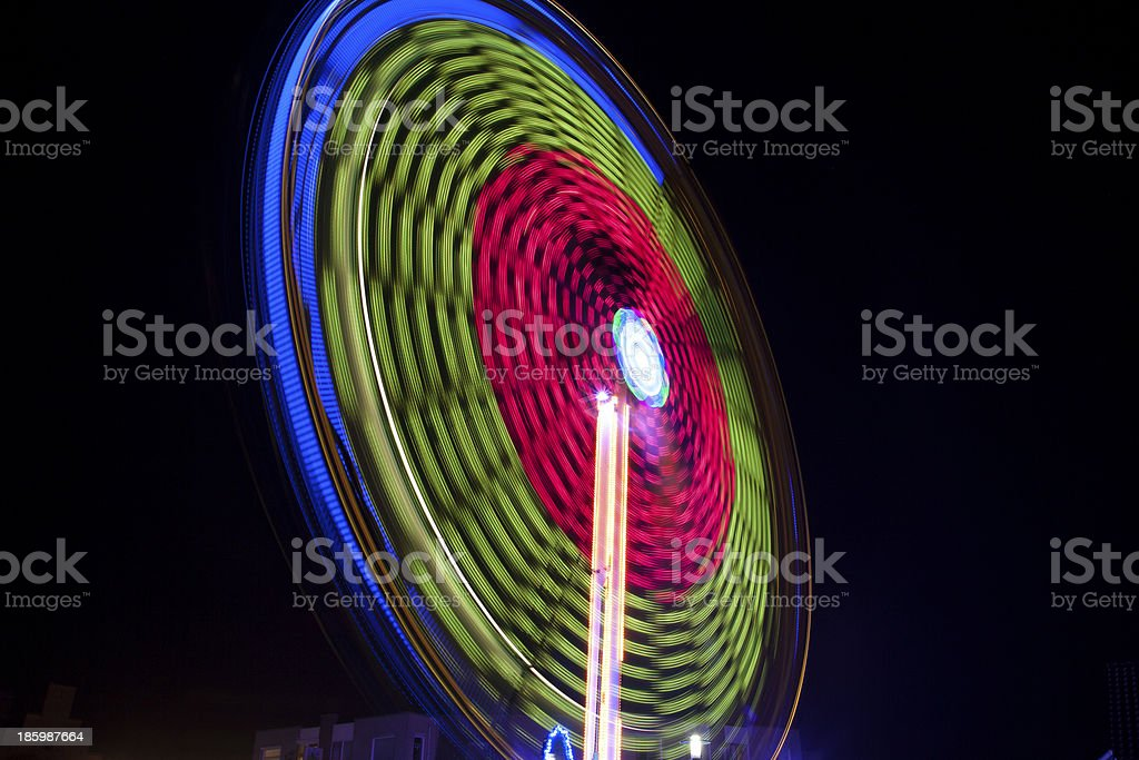 Colors by night royalty-free stock photo