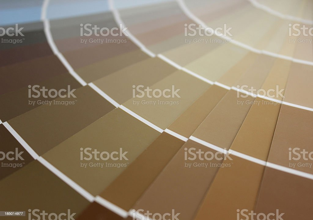 Colors chart stock photo