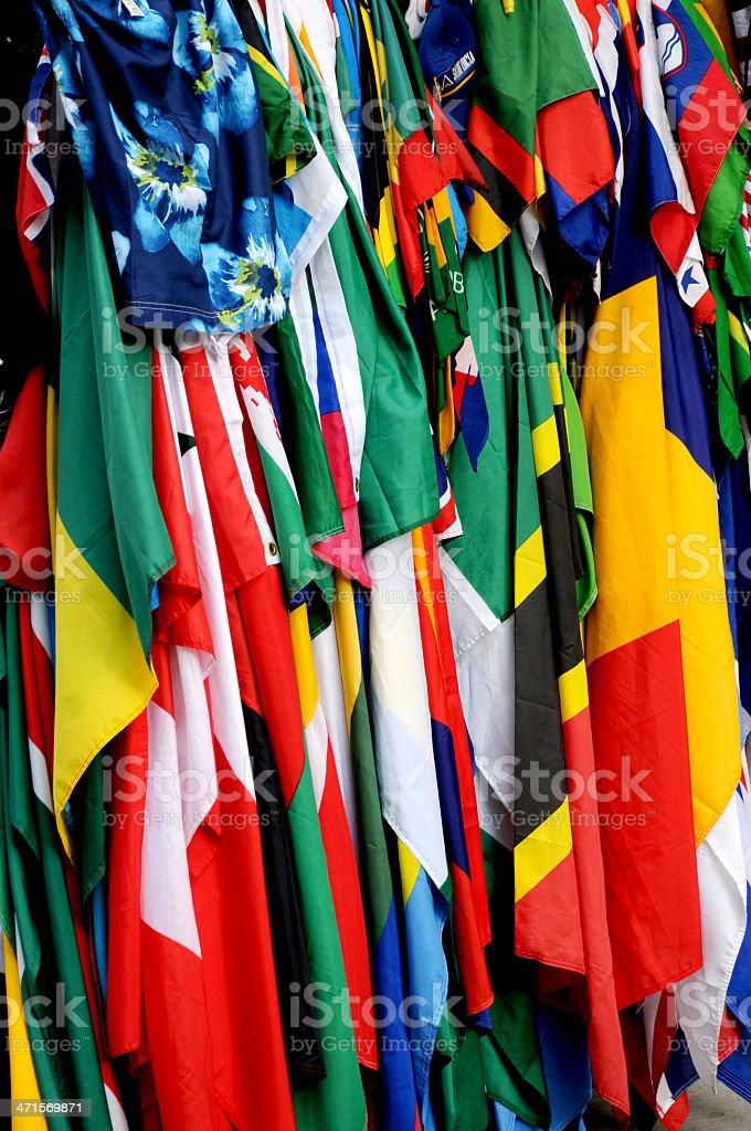 colors flags stock photo